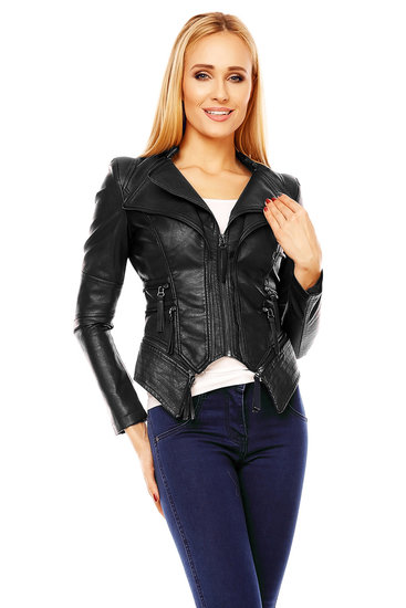 Jacket Leather Noemi Kent WS-901 Black M