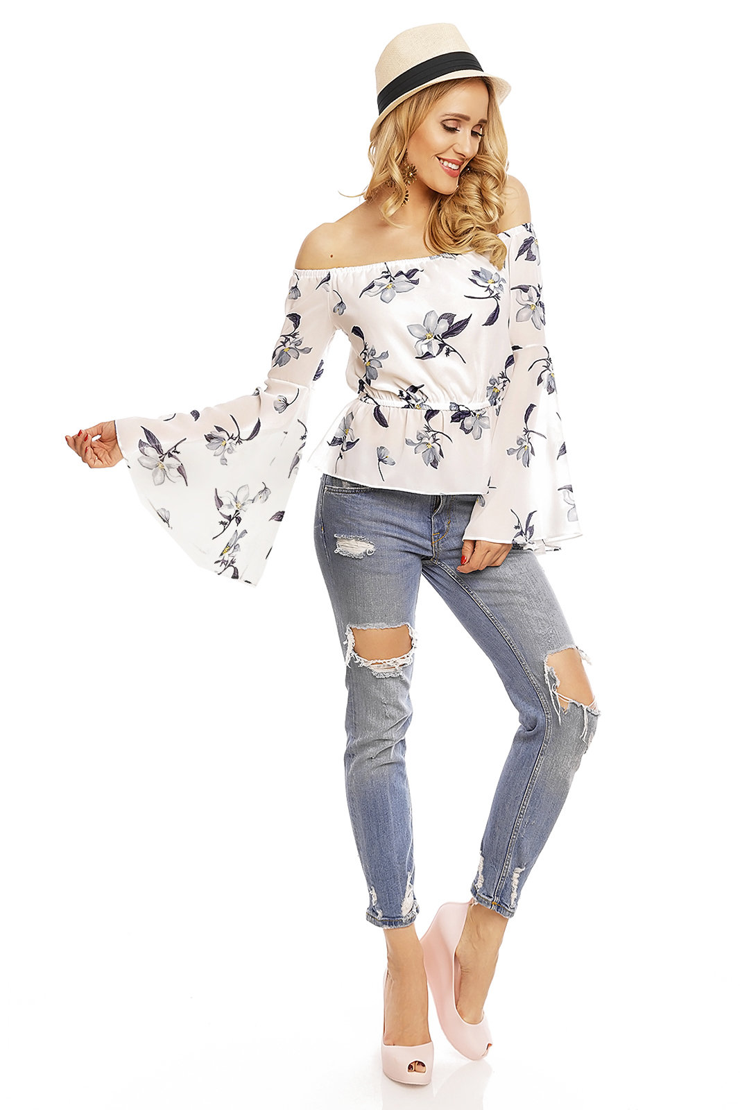 Top Long Sleeve Voyelles L472