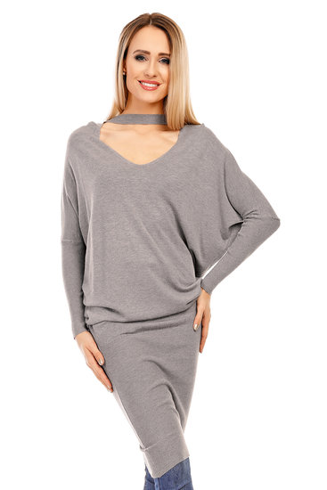 Tunika/Dress Nicole KS1068 Grey - One Size