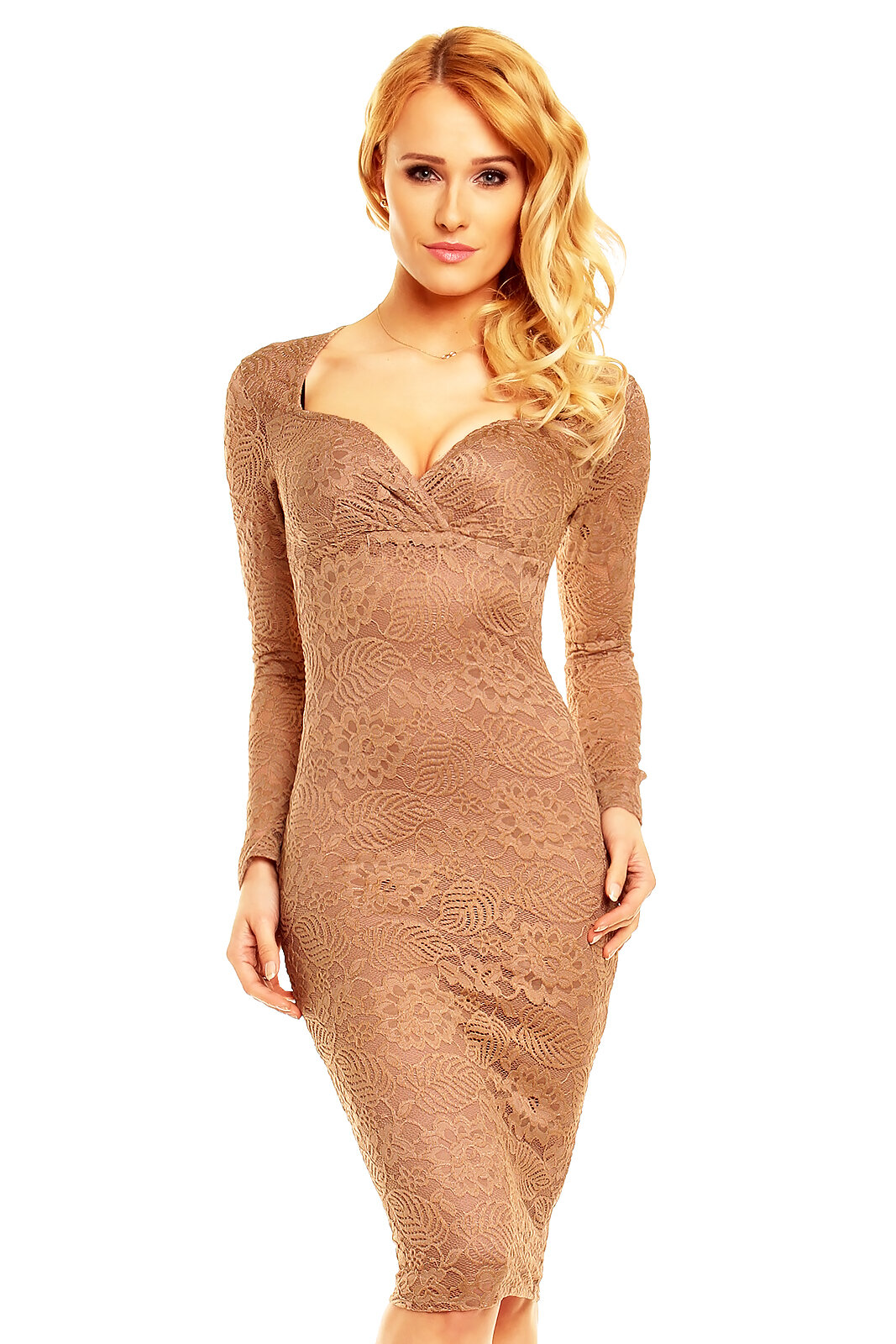 HS-328 MAYAADI SPITZE SEXY COCKTAILKLEID MINIKLEID PARTY KLEID SPITZEKLEID